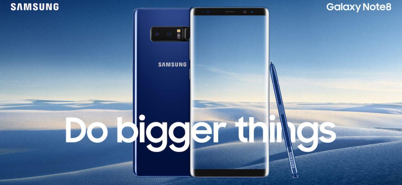 Samsung Galaxy Note 8 เปิดตัวอย่างเป็นทางการแล้ววันนี้ พร้อมพรีวิว